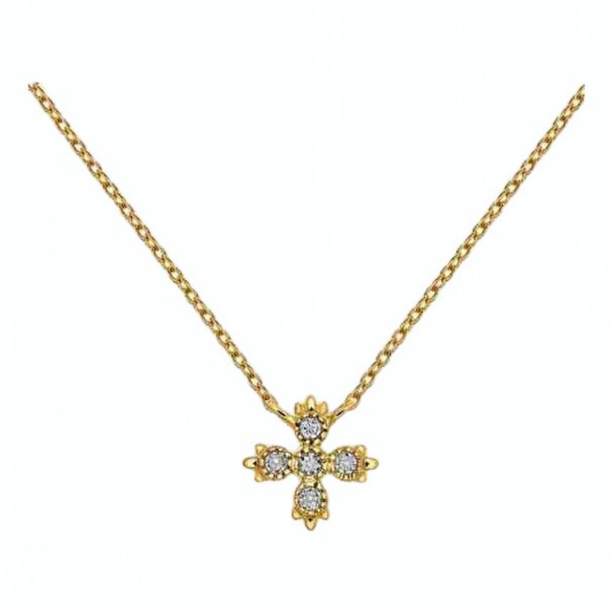 Aristocrazy - Collier   pour femme en or jaune - dore