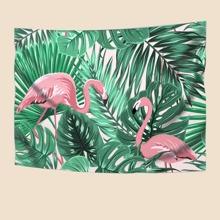 Teppich mit Flamingo Muster