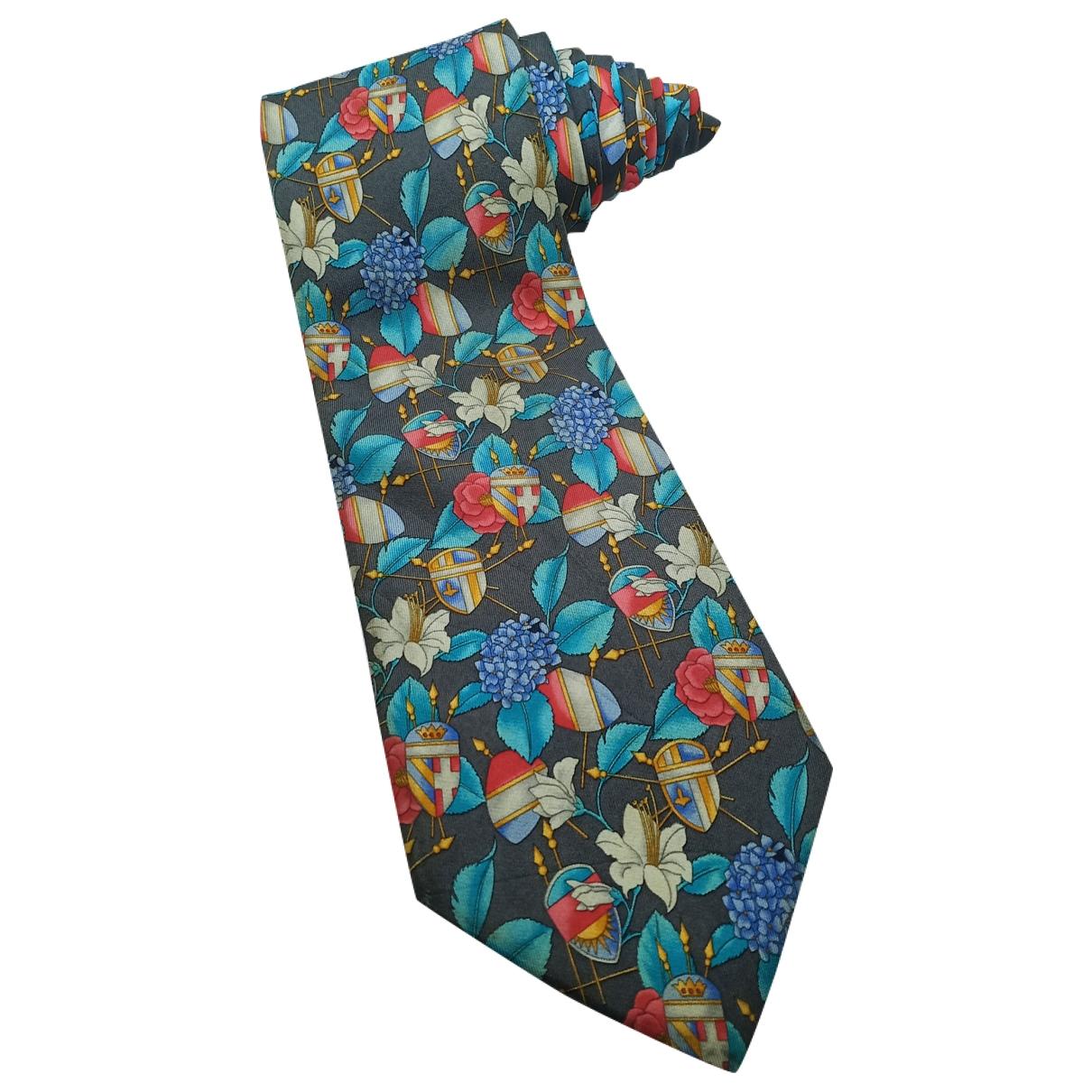 Leonard - Cravates   pour homme en soie - multicolore