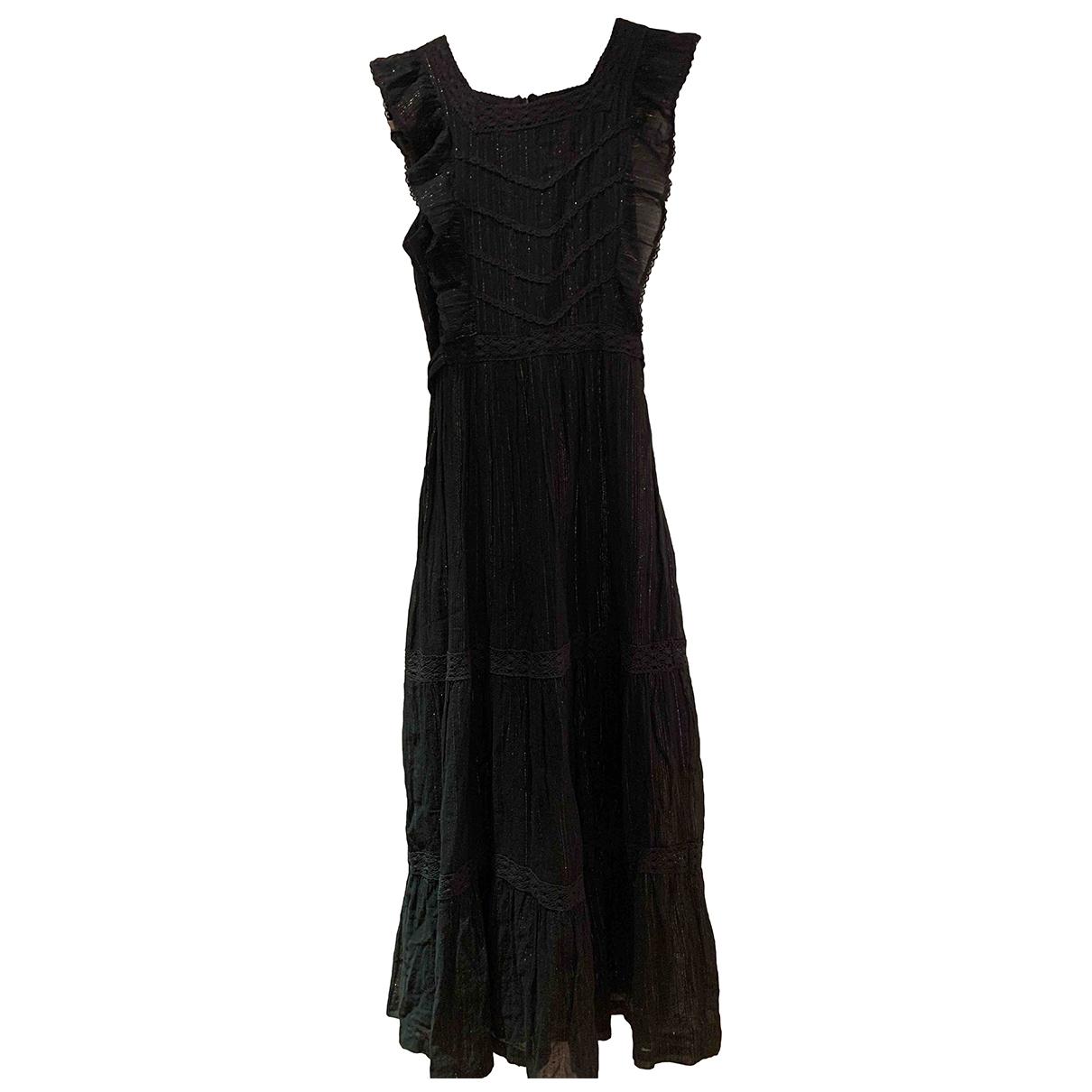 Soeur \N Black Cotton dress for Women 34 FR