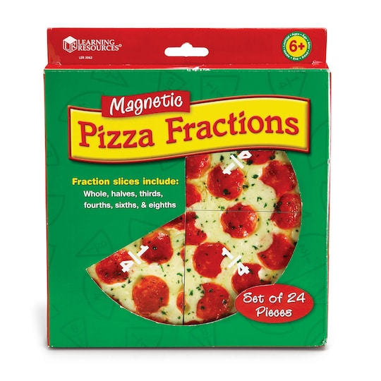Learning Resources® Magnetic Pizza Fraction Demonstration Set | Michaels®