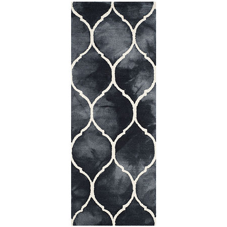 Safavieh Dip Dye Collection Nick Geometric Runner Rug, One Size , Multiple Colors