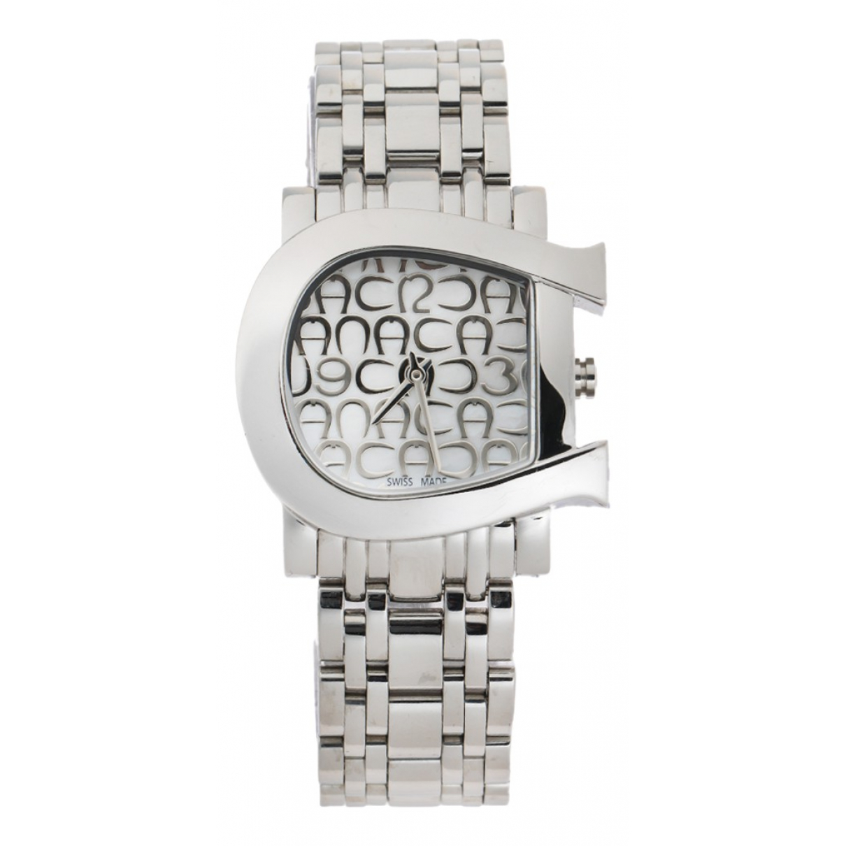 Aigner \N Uhr in  Silber Stahl