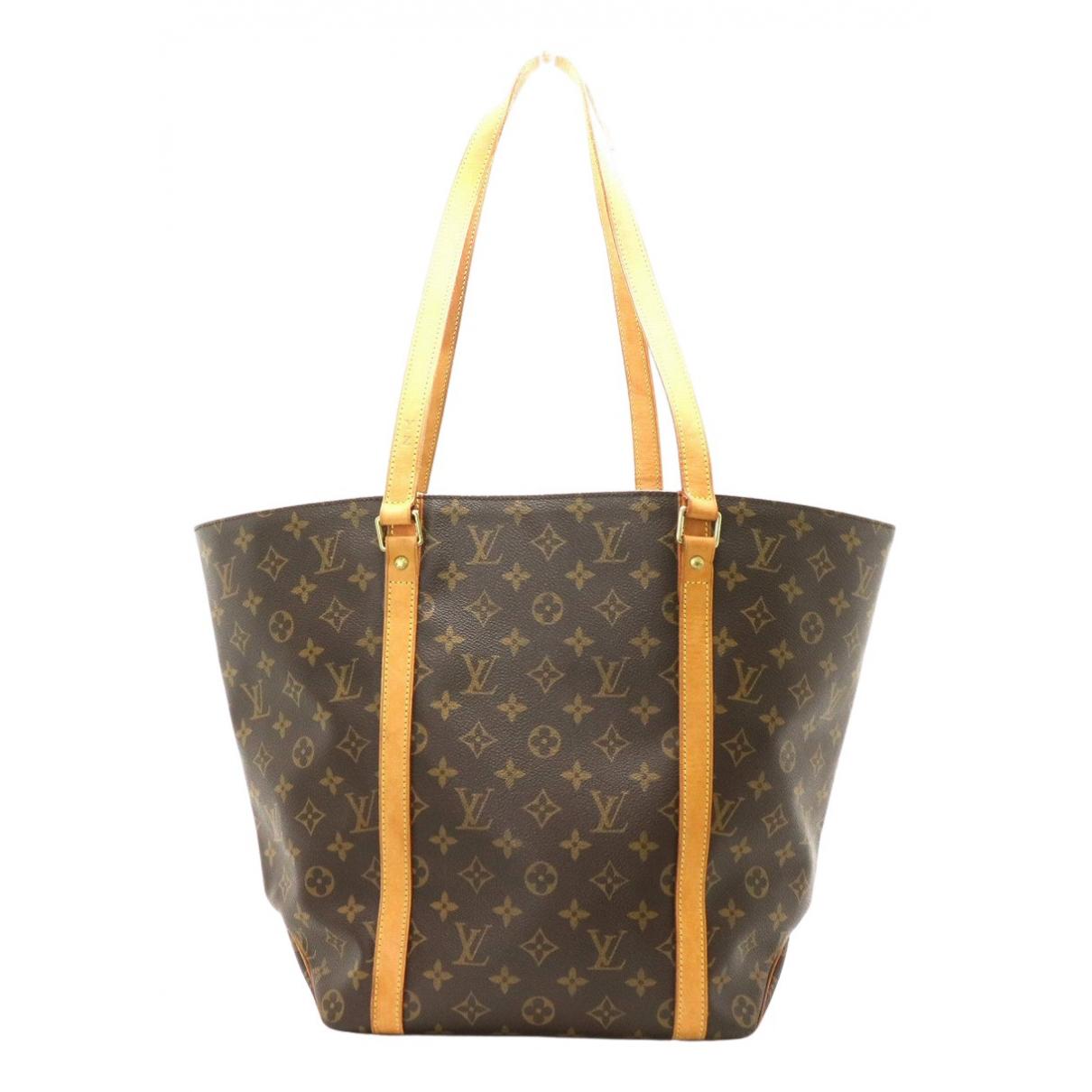 Cabas Shopping de Lona Louis Vuitton