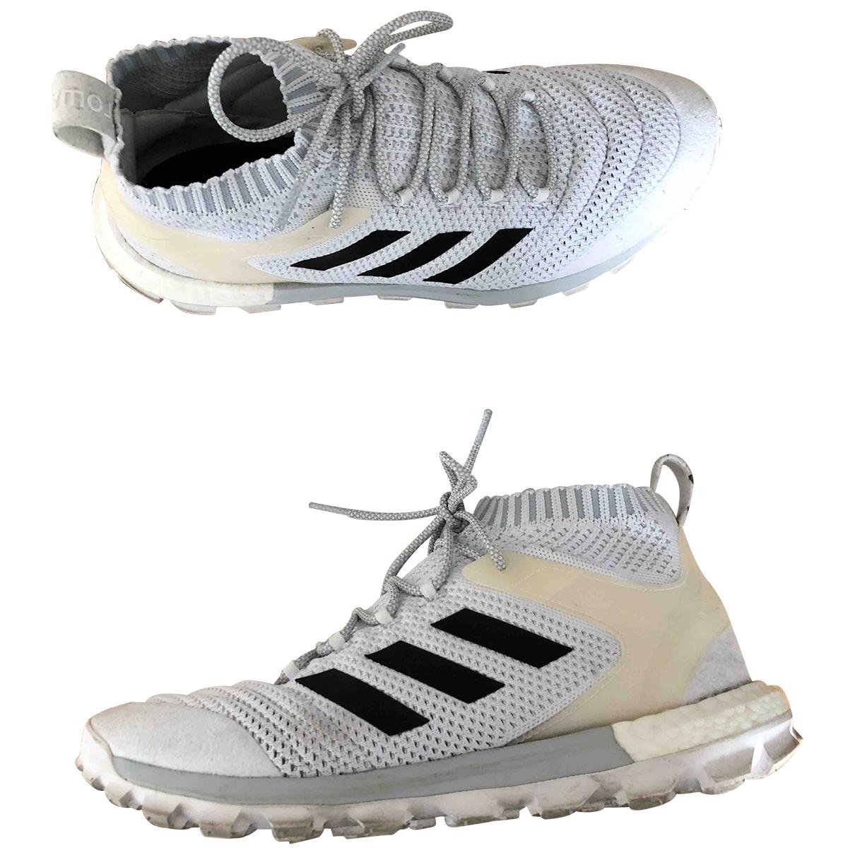 Adidas X Gosha Rubchinskiy - Baskets   pour homme en toile - blanc