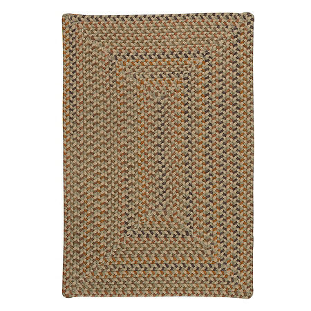 Colonial Mills Allentown Braided Rectangular Reversible Indoor Rugs, One Size , Brown