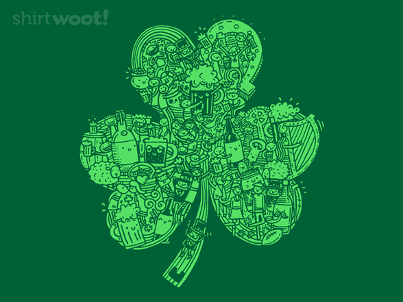Made Of St. Patrick's Day T Shirt