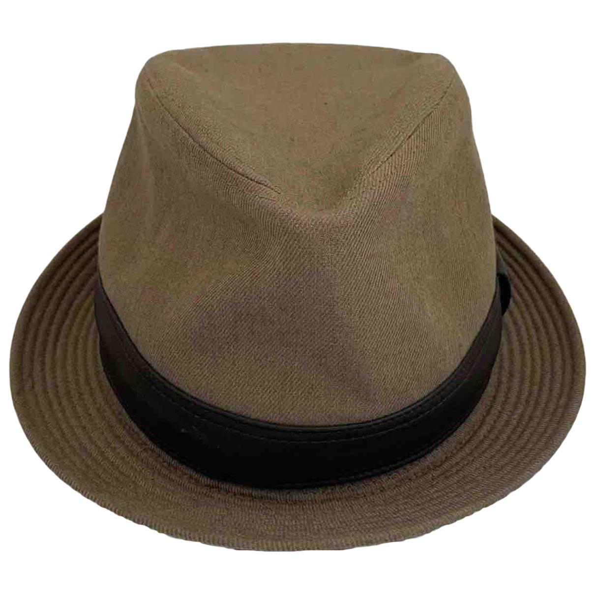 Hermès N Khaki Linen hat & pull on hat for Men 60 cm