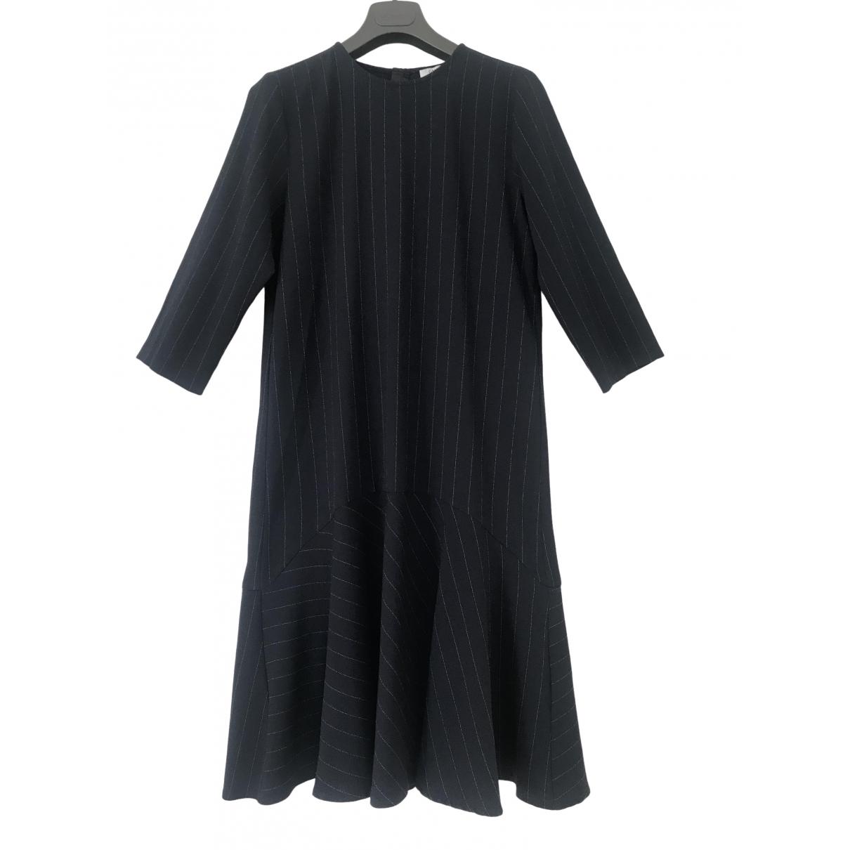Vestido midi Ganni
