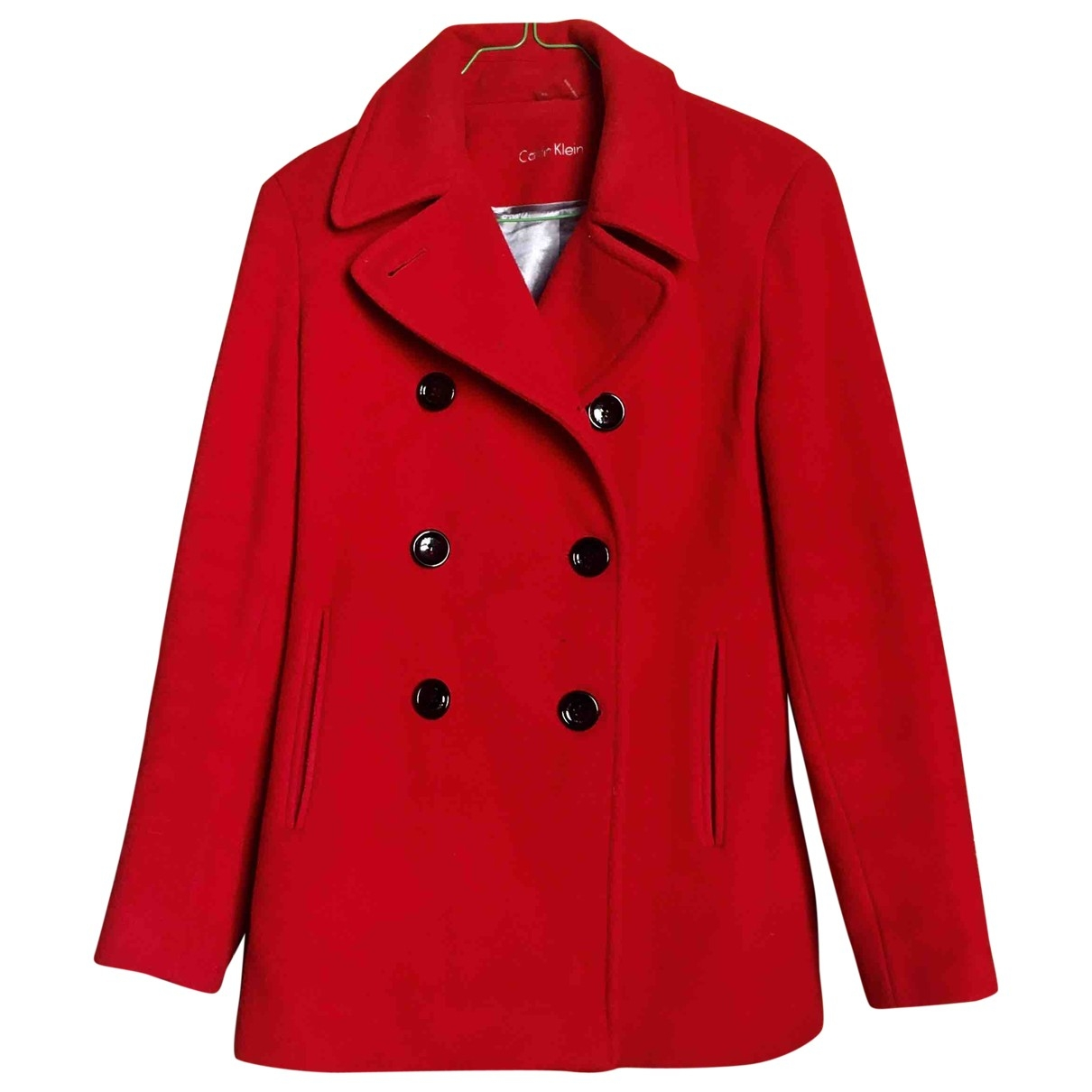 Calvin Klein \N Red Cashmere coat for Women 4 US