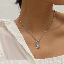 Halskette mit Opal Dekor