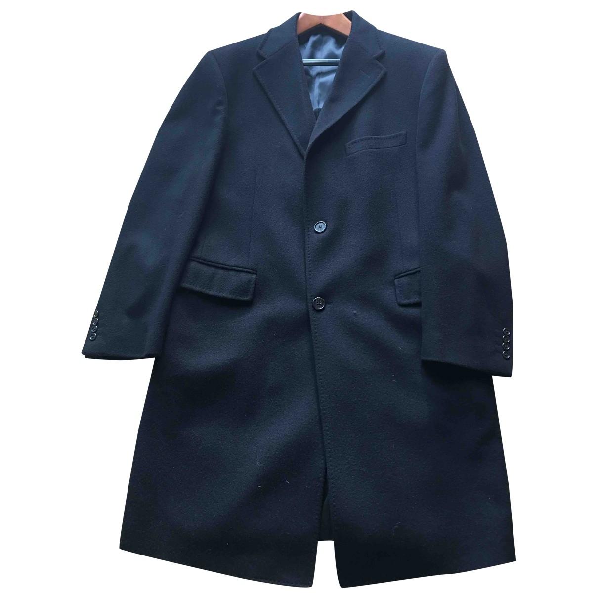 Corneliani - Manteau   pour homme en laine - noir