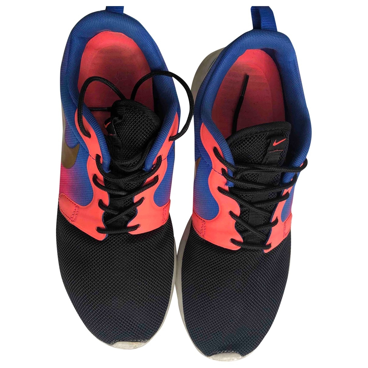 Nike - Baskets Roshe Run pour femme en toile - multicolore