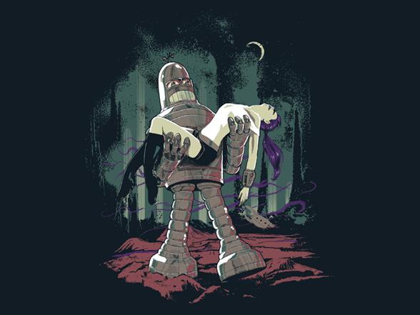 Forbidden Future T Shirt
