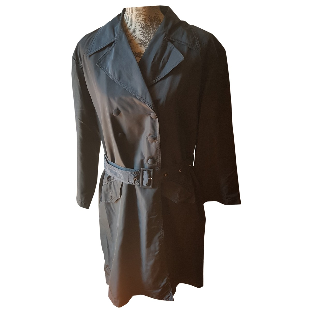 Cacharel - Manteau   pour femme - marine