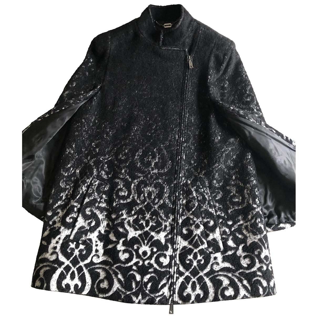 John Richmond - Manteau   pour femme en laine - noir