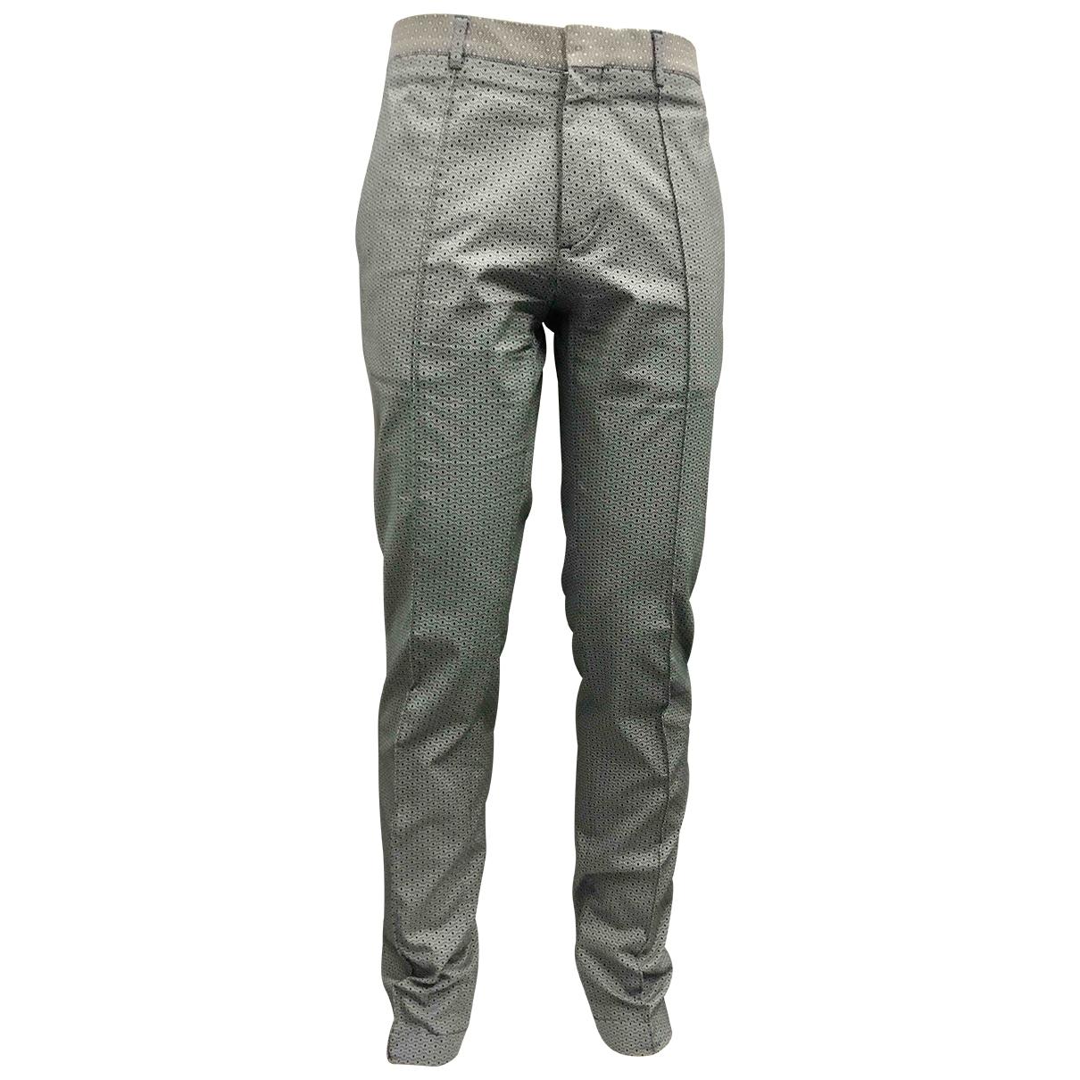 Zara \N Green Cotton Trousers for Men 32 UK - US