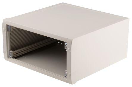 METCASE Mettec White Aluminium Project Box, 250 x 250 x 120mm