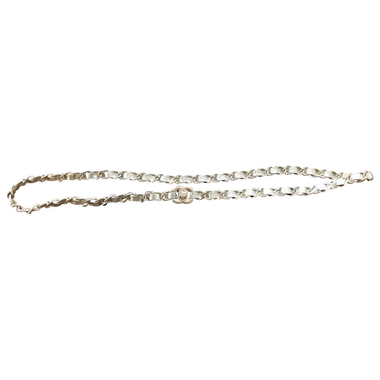 Chanel \N Guertel in  Gold Leder