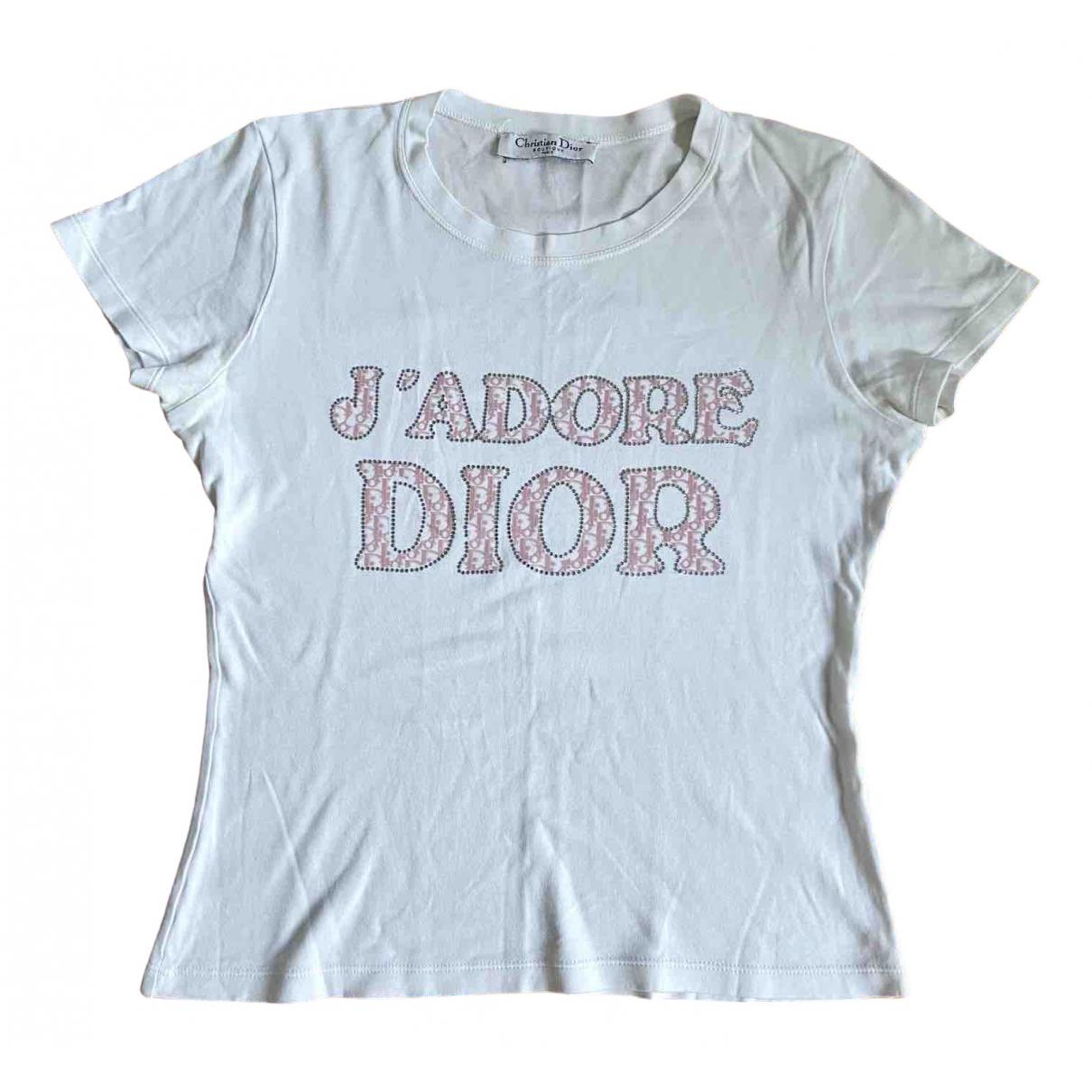 Dior \N White Cotton  top for Women S International