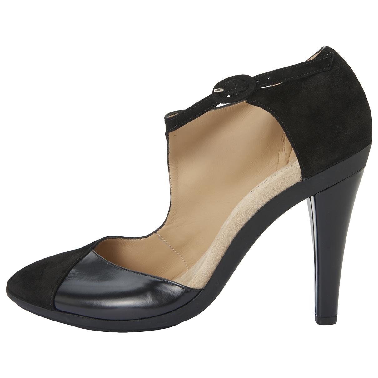 Repetto - Escarpins   pour femme en suede - noir