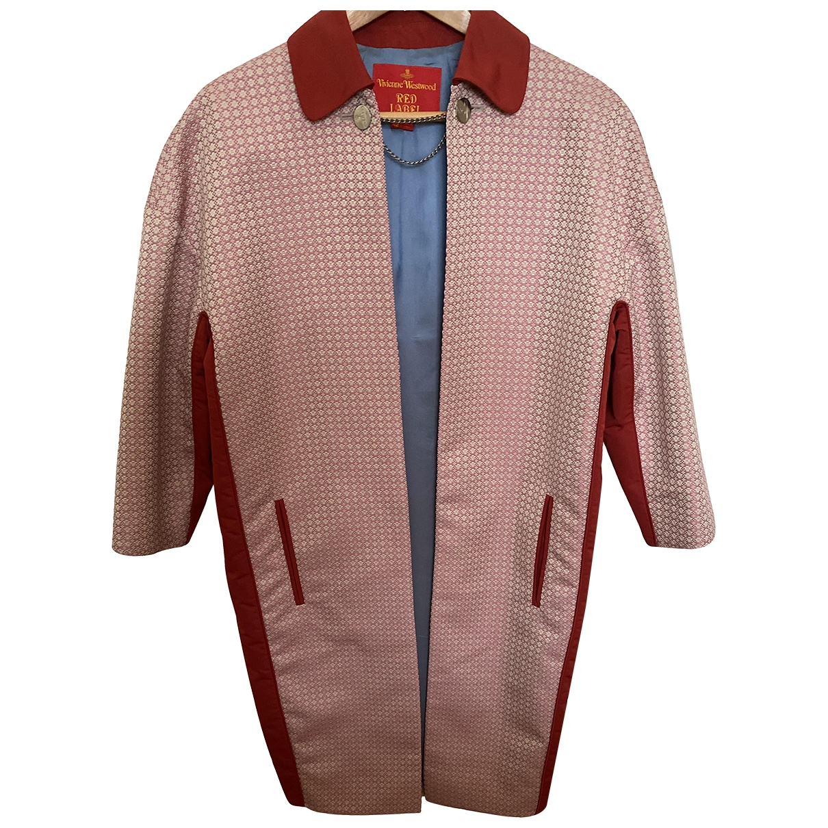 Vivienne Westwood Red Label \N Maentel in  Rosa Polyester