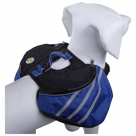 The Pet Life Everest Pet Backpack, One Size , Blue
