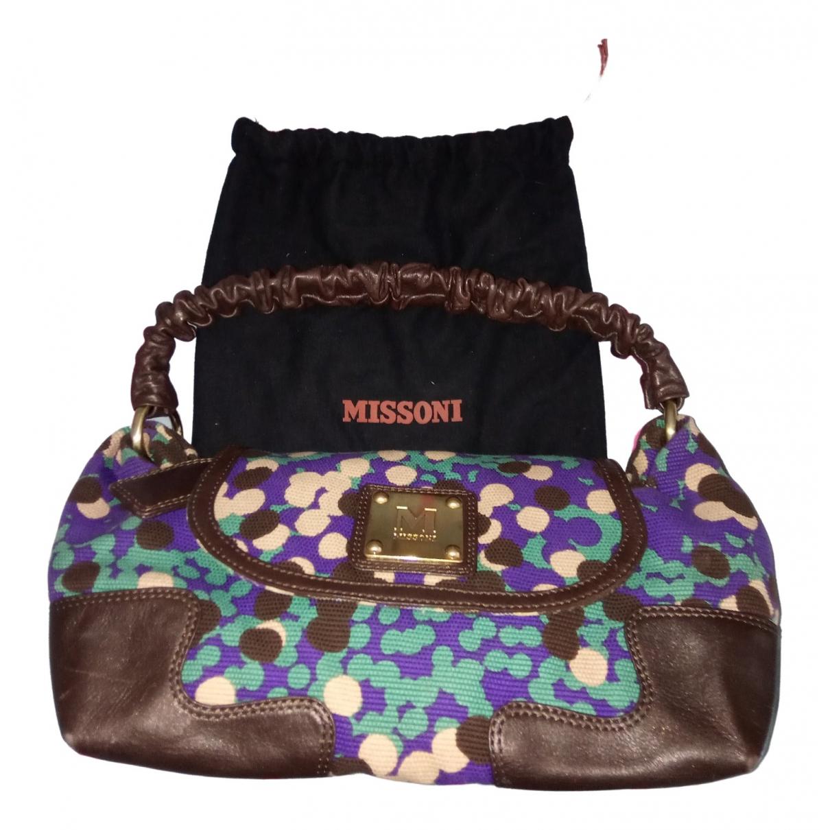 M Missoni \N Leather handbag for Women \N