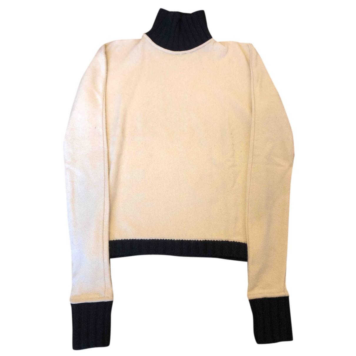 Luciano Barbera N Beige Cashmere Knitwear for Women 40 IT
