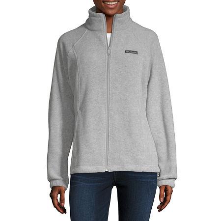 Columbia Benton Springs Fleece Lightweight Jacket, Large , Gray