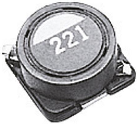 TDK Shielded Wire-wound SMD Inductor 33 μH ±20% Wire-Wound 750mA Idc (10)