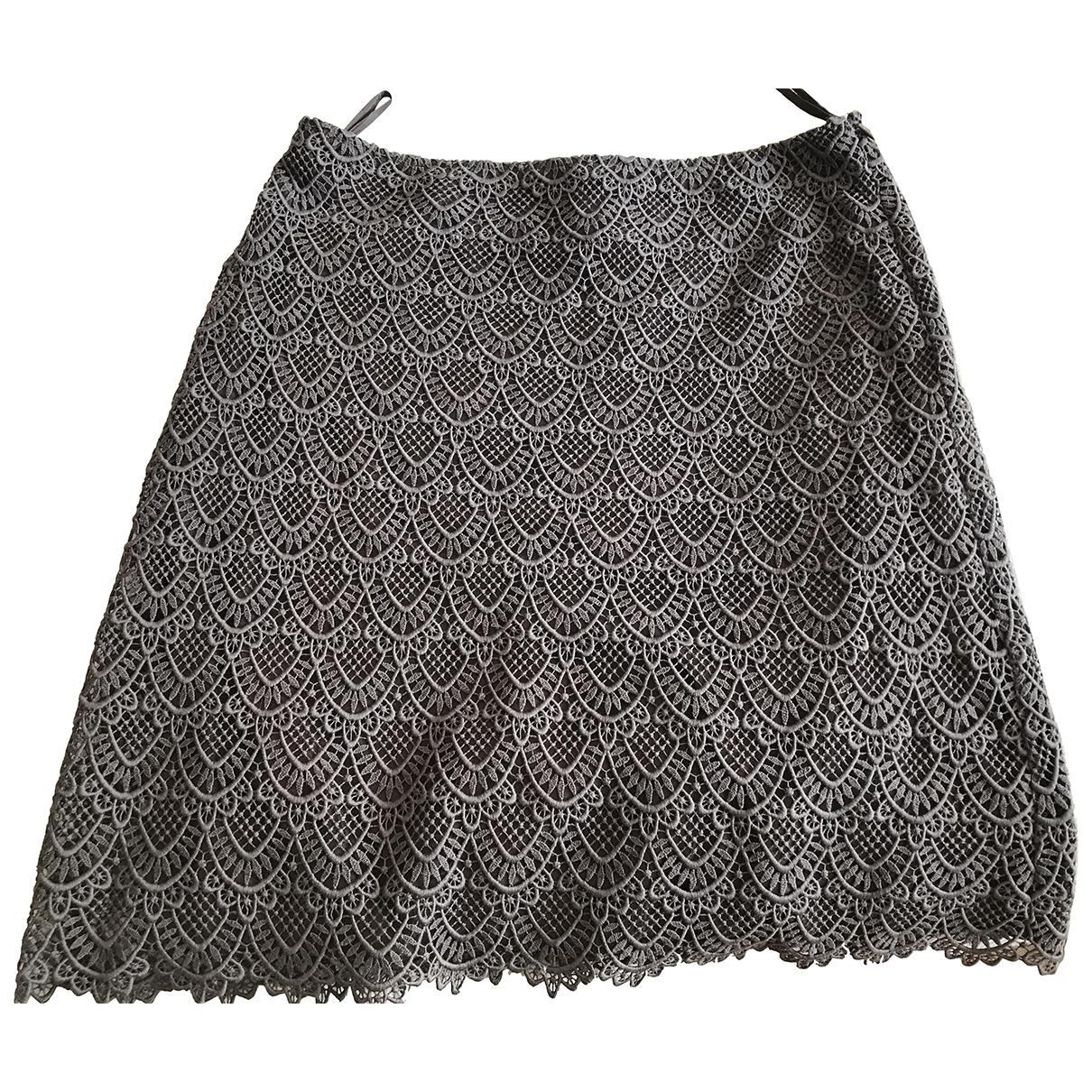 Valentino Garavani \N Brown Cotton skirt for Women 48 IT