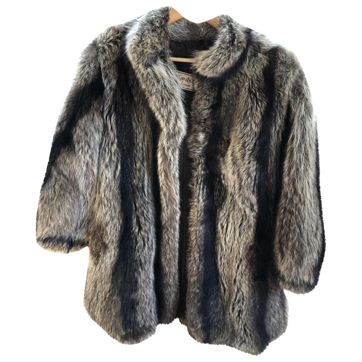 Yves Saint Laurent \N Fur coat for Women 40 FR
