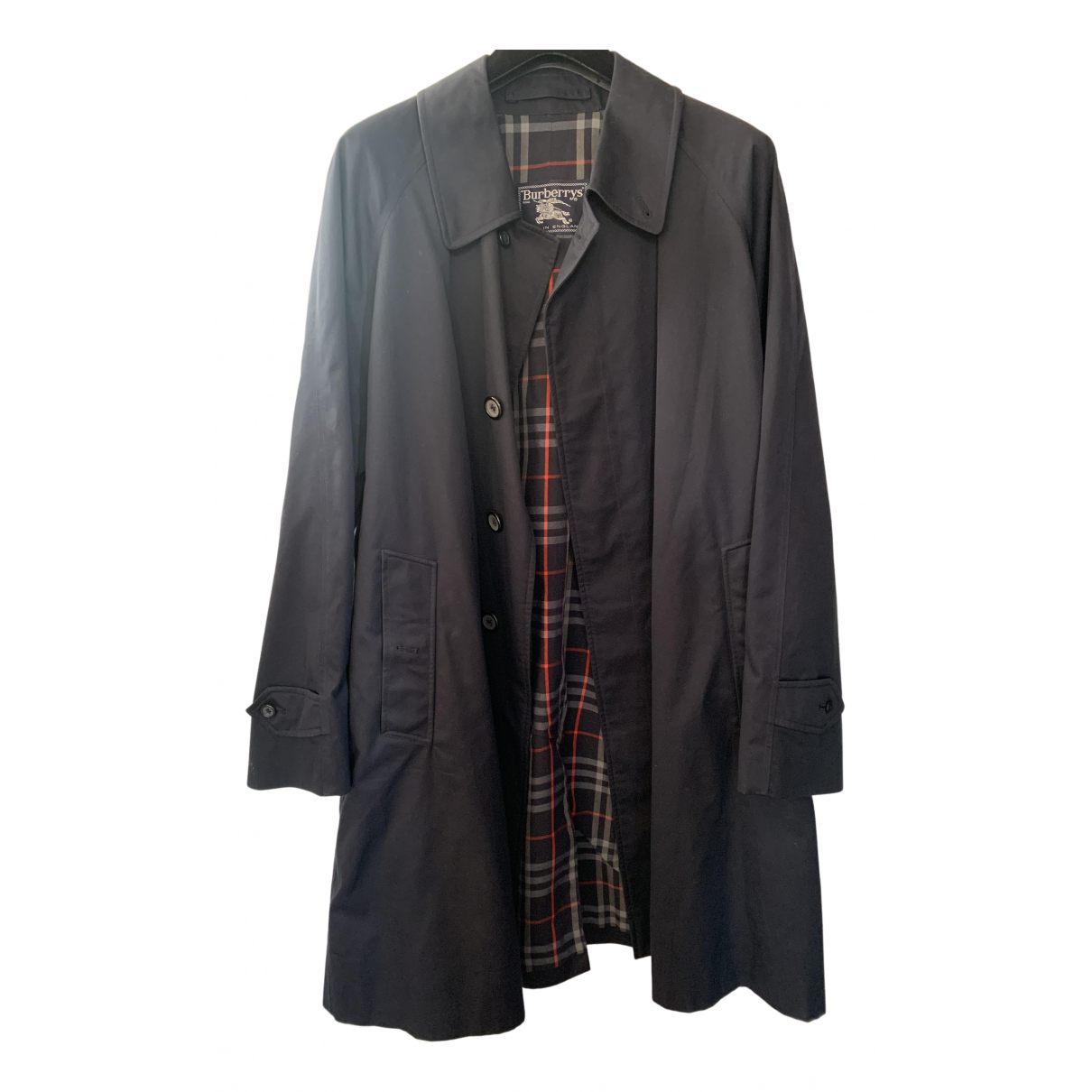 Burberry N Blue Cotton coat  for Men XL International
