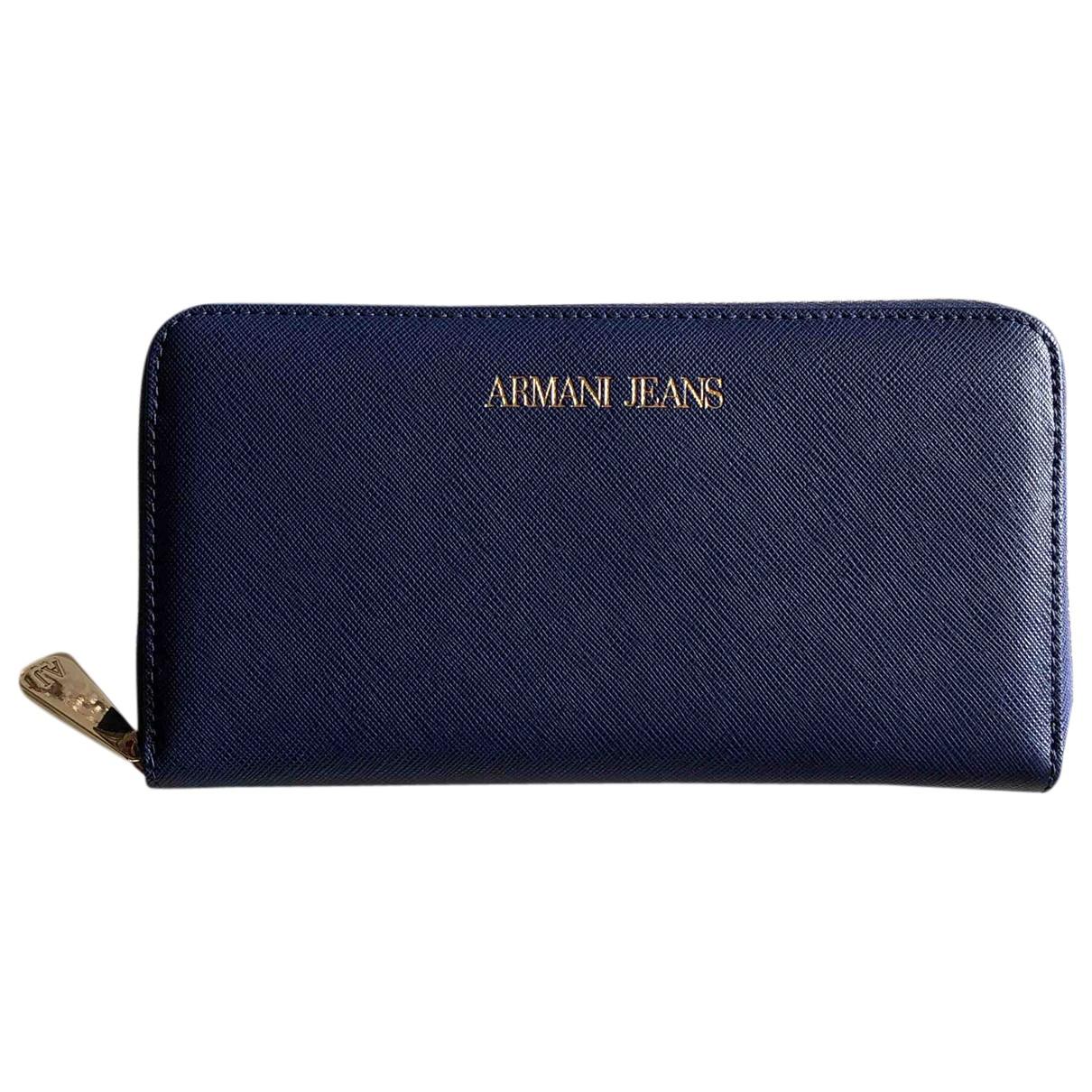 Armani Jeans \N Portemonnaie Marine