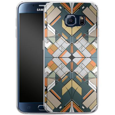Samsung Galaxy S6 Silikon Handyhuelle - Mosaic I von caseable Designs
