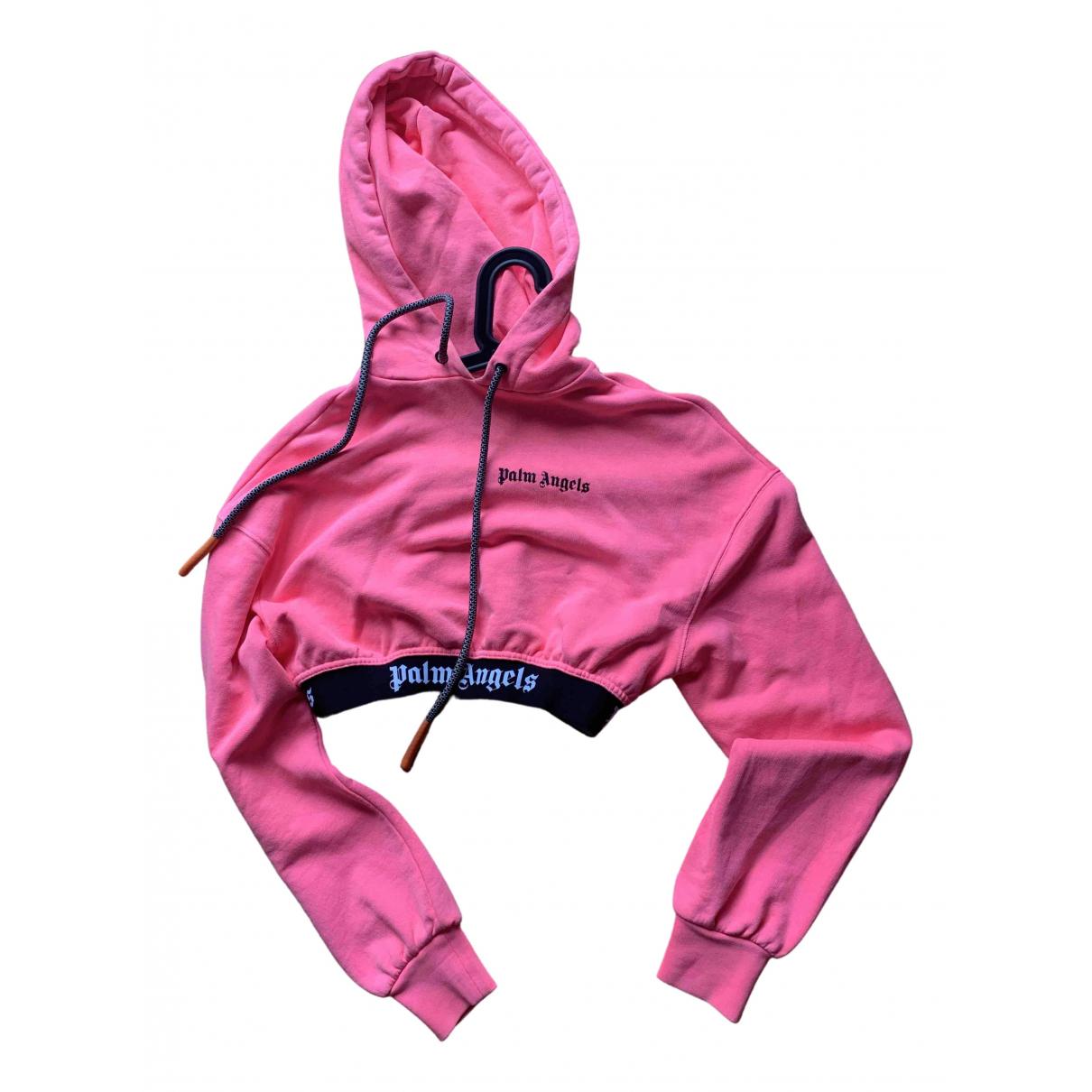 Palm Angels N Pink Cotton Knitwear for Women S International