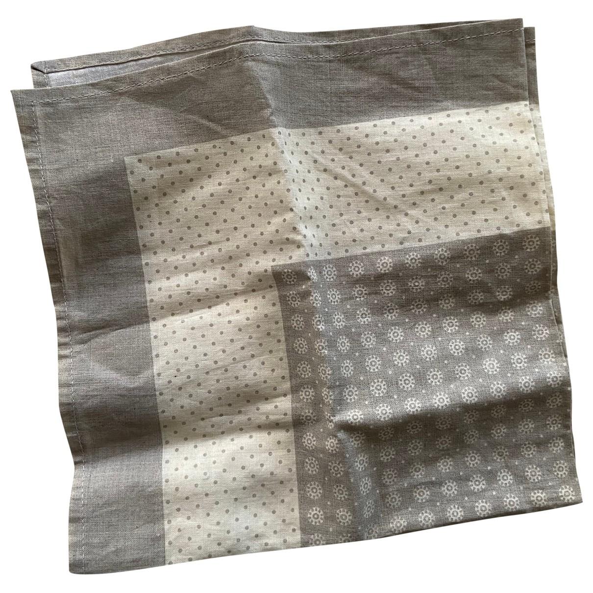 Brunello Cucinelli \N Beige scarf & pocket squares for Men \N