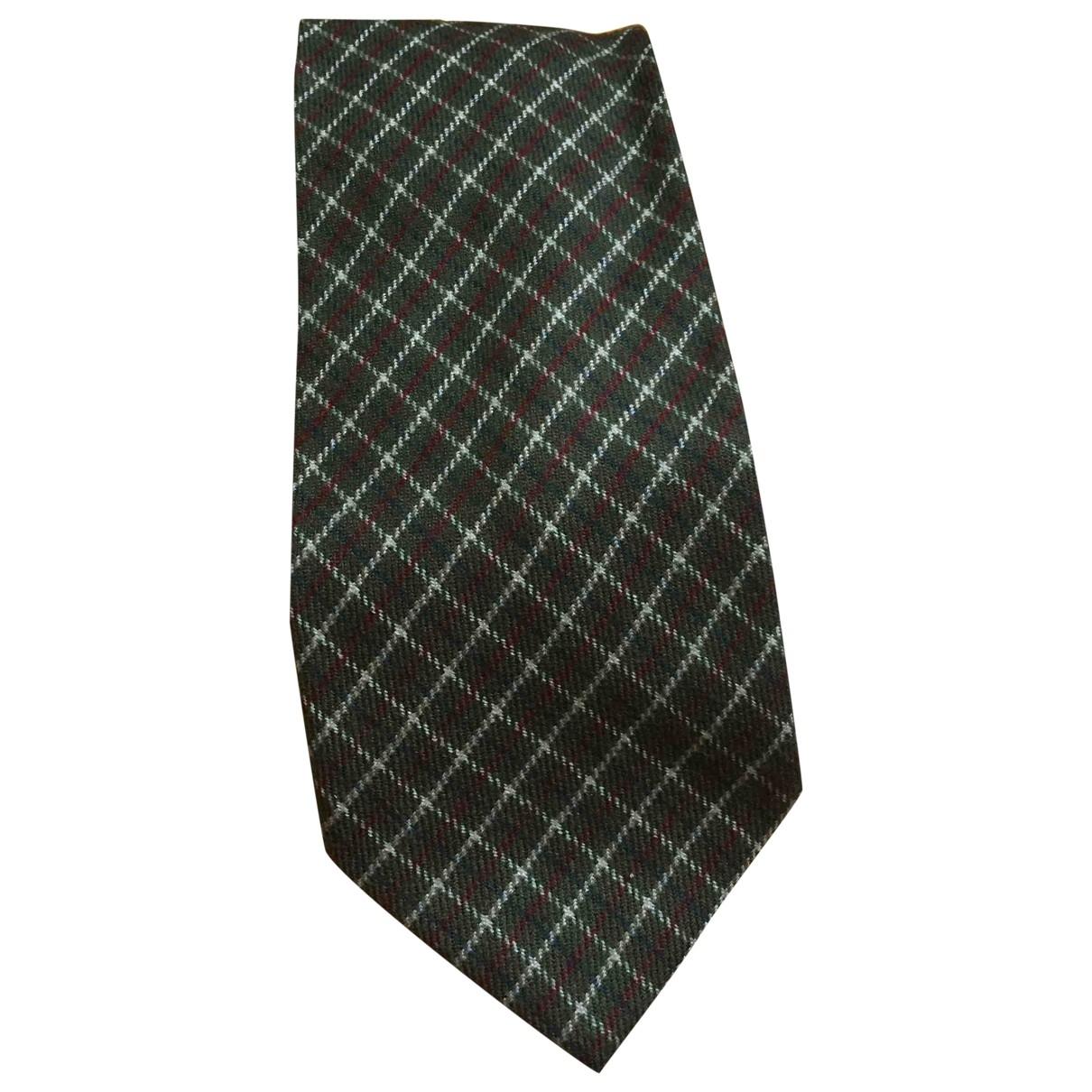 Saint Laurent \N Krawatten in  Gruen Kaschmir