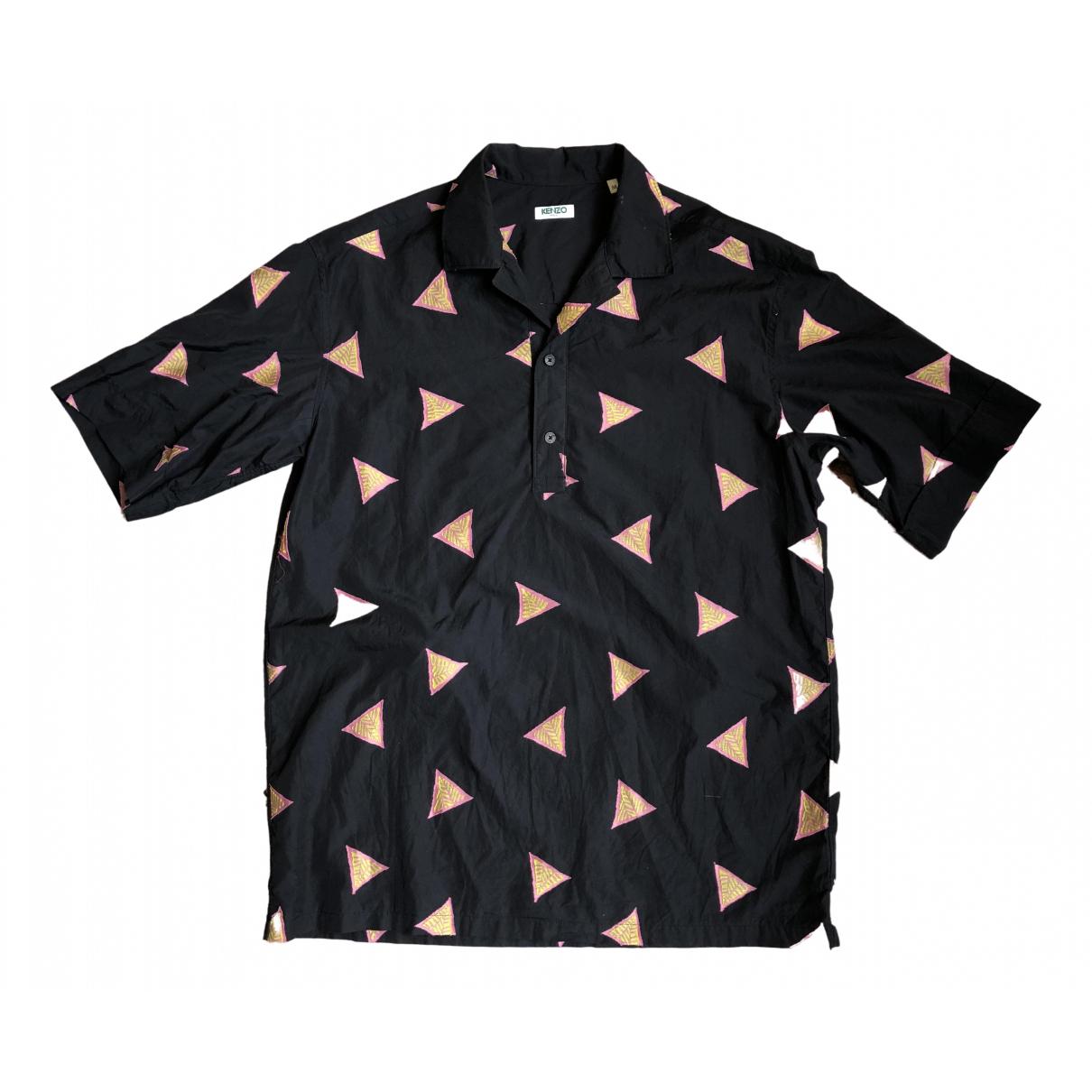 Kenzo - Chemises   pour homme en coton - noir