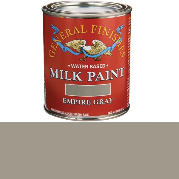 Empire Gray Milk Paint Water Based Pint