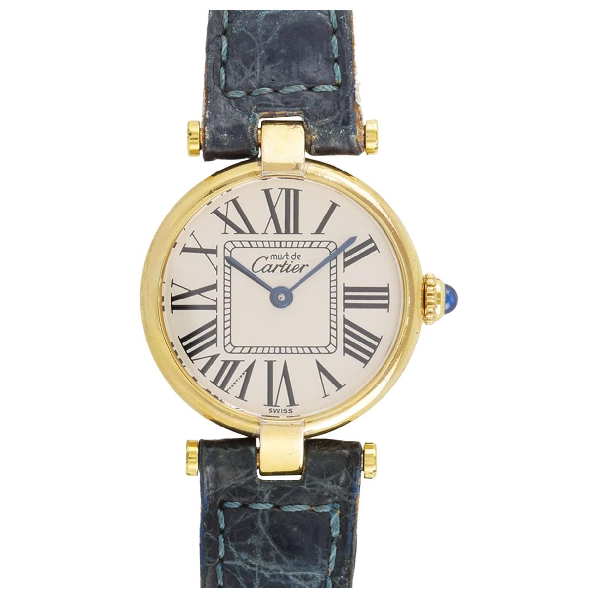 Reloj de Plata Cartier