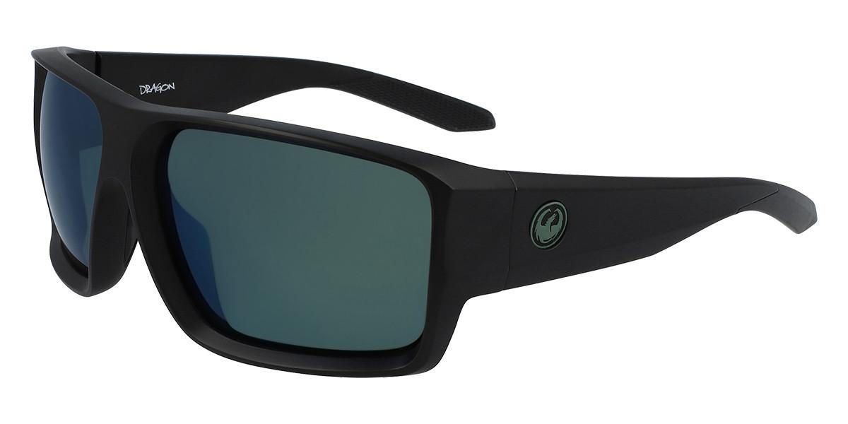 Dragon Alliance DR FREED LL H2O 003 Mens Sunglasses Black Size 64