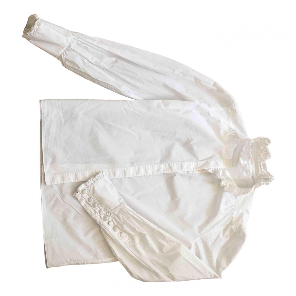 Erdem X H&m - Top   pour femme en coton - blanc