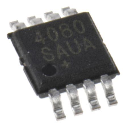 Maxim Integrated MAX4080SAUA+ , Current Sense Amplifier Single Rail to Rail 8-Pin μMAX (50)