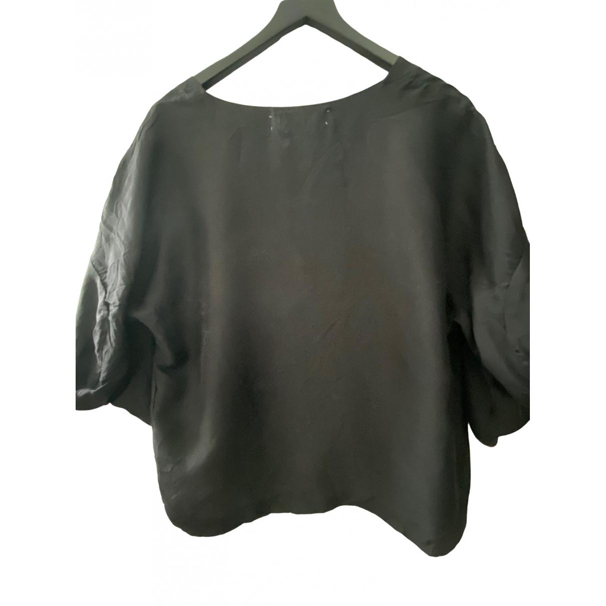Marni \N Grey Silk  top for Women 38 IT