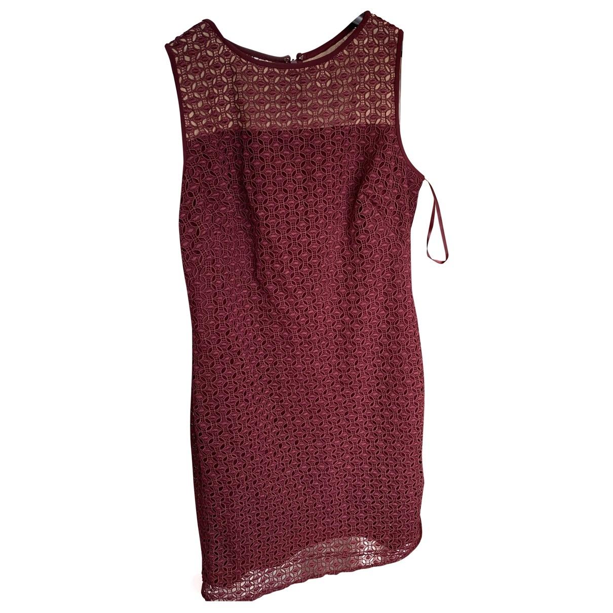 Lauren Ralph Lauren \N Burgundy Lace dress for Women 12 US