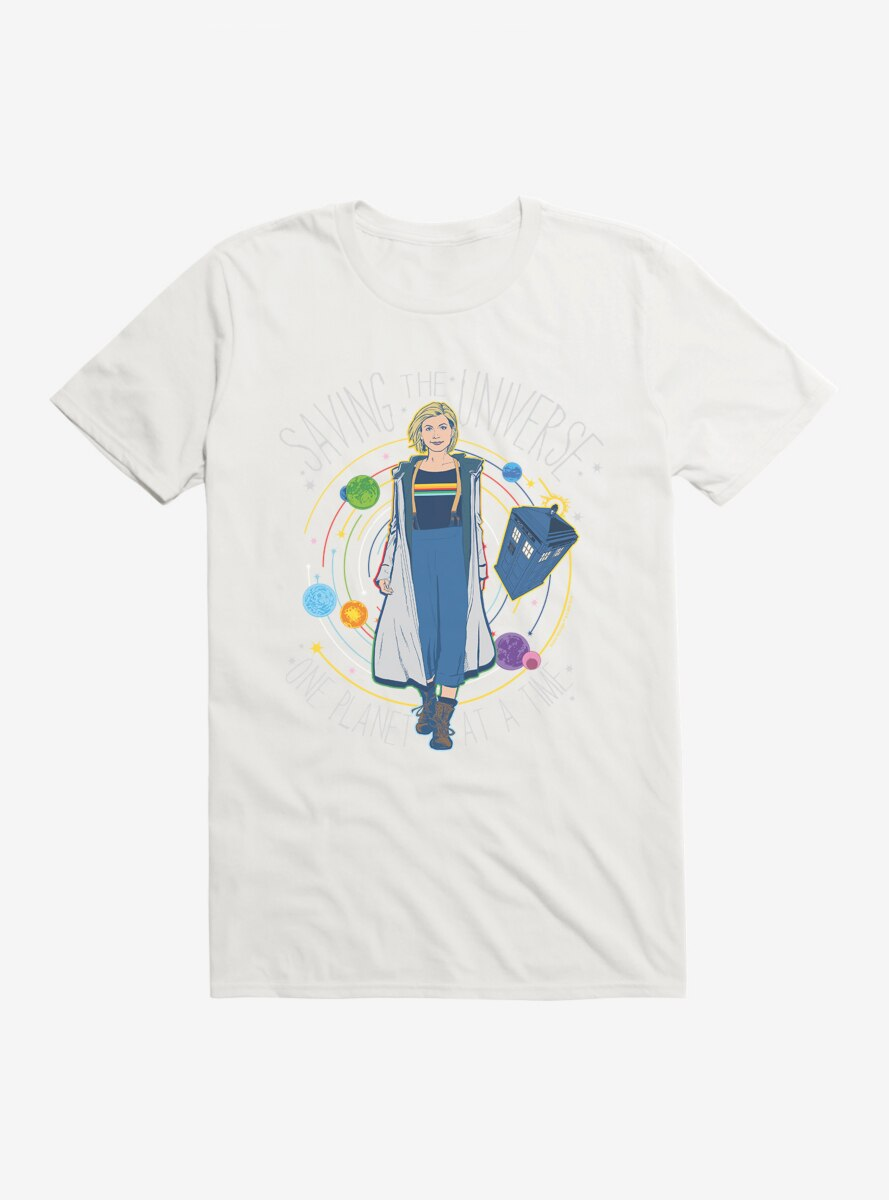 Doctor Who The Thirteenth Doctor Saving The Universe One Planet At A Time T-Shirt
