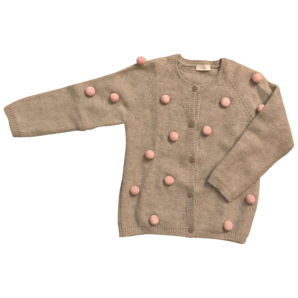 Il Gufo N Grey Wool Knitwear for Kids 2 years - up to 86cm FR