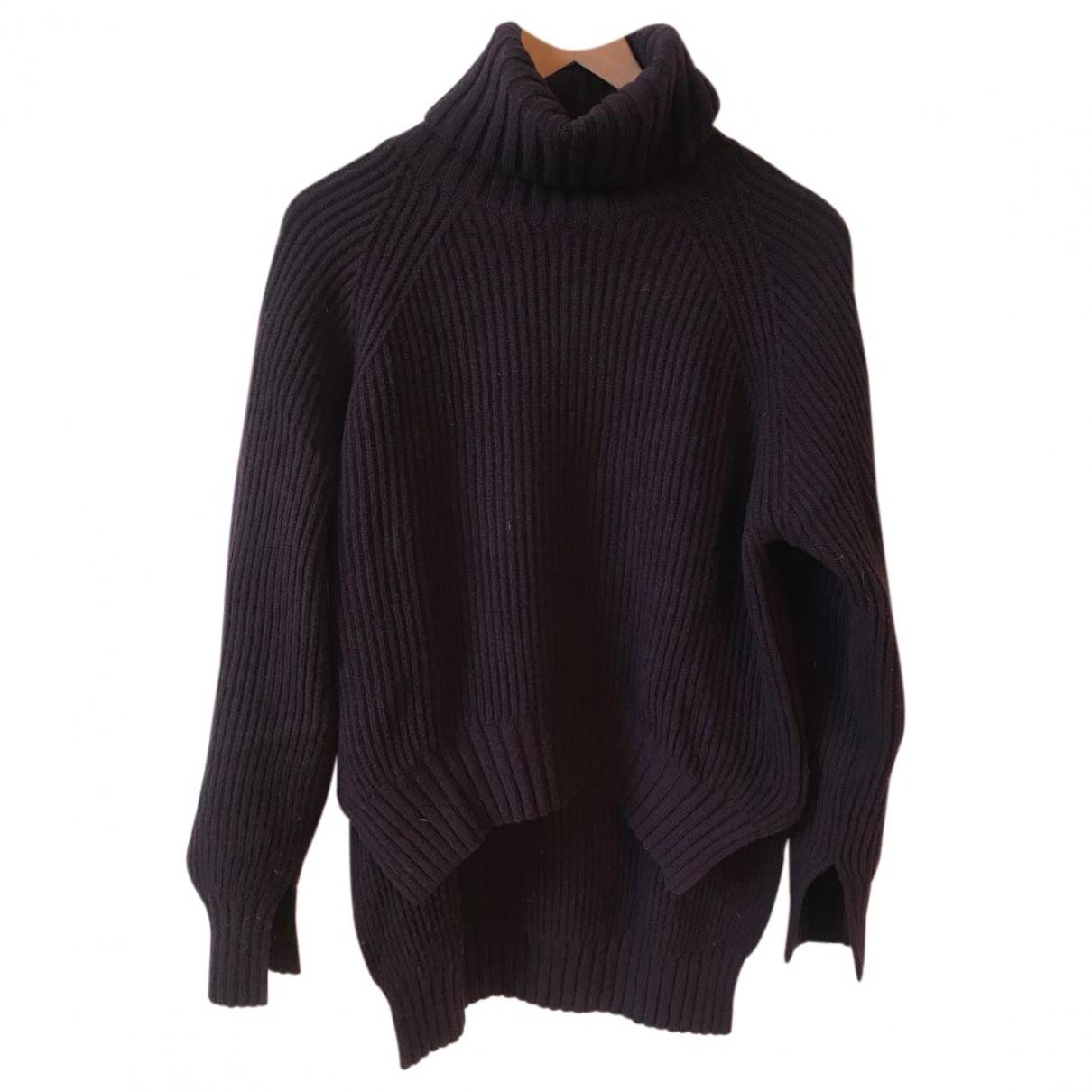 Joseph \N Purple Wool Knitwear for Women L International